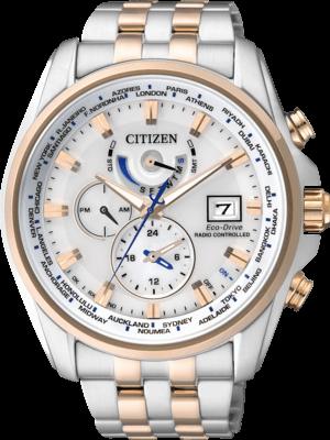 Herrenuhr Citizen Elegant Herren mit weißem Zifferblatt und Edelstahlarmband