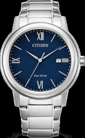 Herrenuhr Citizen Elegant Herren mit blauem Zifferblatt und Edelstahlarmband