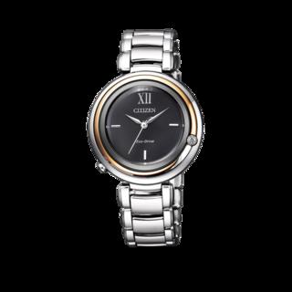 Citizen Damenuhr Elegant L EM0658-87E