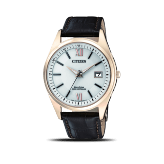 Citizen Herrenuhr Elegant Quarz 39mm AS2053-11A
