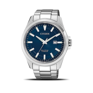 Citizen Herrenuhr Elegant Quarz 43mm BM7470-84L