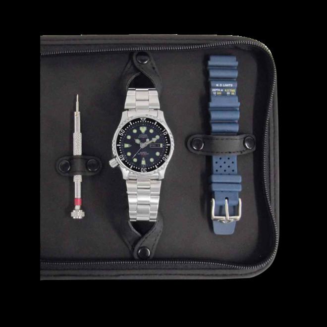 Herrenuhr Citizen Promaster Marine mit blauem Zifferblatt und Kautschukarmband bei Brogle