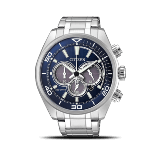Citizen Herrenuhr Sport Solar Chronograph 45mm CA4330-81L