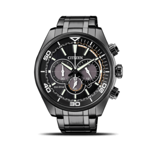 Citizen Herrenuhr Sport Solar Chronograph 45mm CA4335-88E