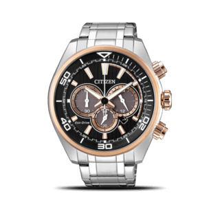 Citizen Herrenuhr Sport Solar Chronograph 45mm CA4336-85E