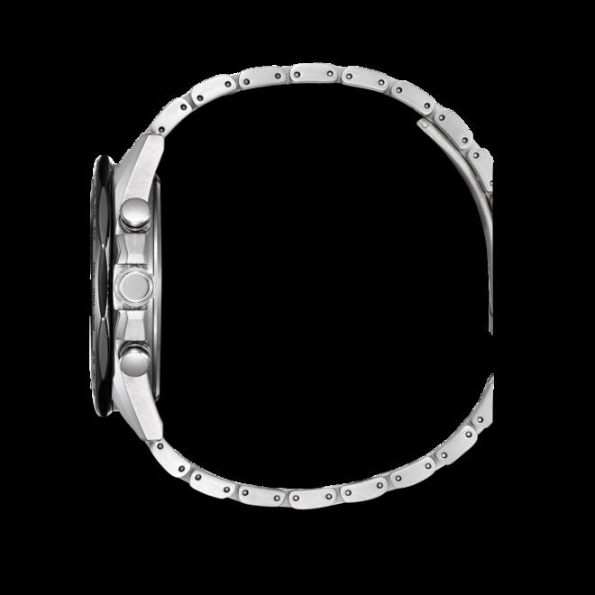 Herrenuhr Citizen Super Titanium 44mm mit schwarzem Zifferblatt und Titaniumarmband bei Brogle