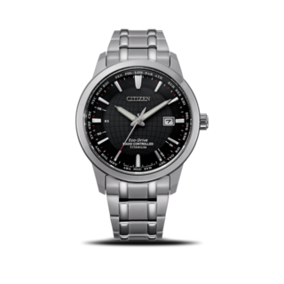 Citizen Herrenuhr Super Titanium Quarz 43mm CB0190-84E