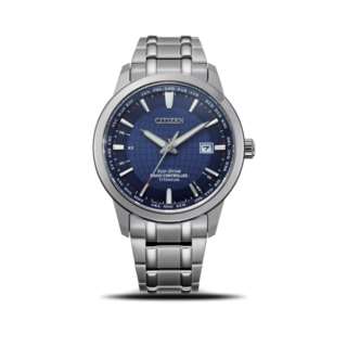 Citizen Herrenuhr Super Titanium Quarz 43mm CB0190-84L
