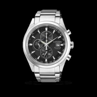 Citizen Herrenuhr Super Titanium Quarz Chronograph 42,5mm CA0650-82F
