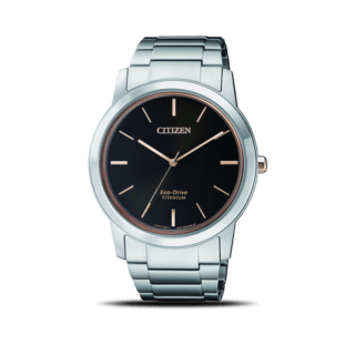 Citizen Herrenuhr Super Titanium Solar 41mm AW2024-81E