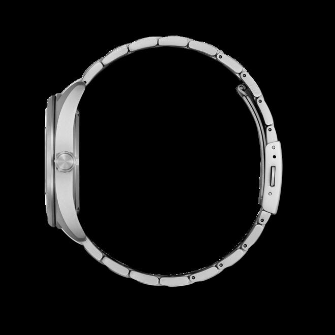 Herrenuhr Citizen Super Titanium Solar 42mm mit schwarzem Zifferblatt und Titaniumarmband bei Brogle