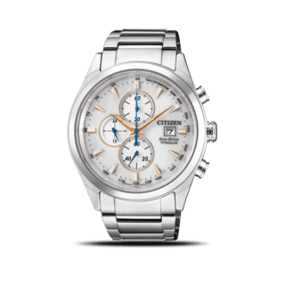 Citizen Herrenuhr Super Titanium Solar Chronograph 42,5mm CA0650-82B