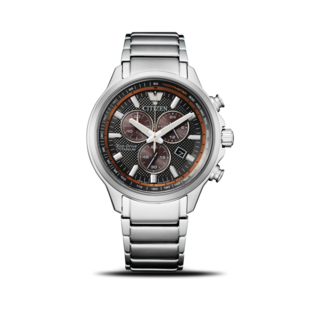 Citizen Herrenuhr Super Titanium Solar Chronograph 43mm AT2470-85H