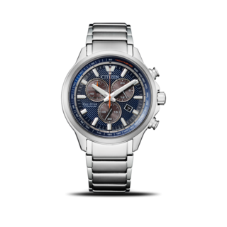 Citizen Herrenuhr Super Titanium Solar Chronograph 43mm AT2470-85L