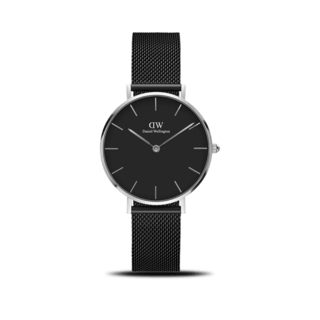 Daniel Wellington Damenuhr Classic Black Petite Ashfield DW00100202