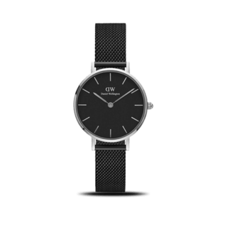 Daniel Wellington Damenuhr Classic Black Petite Ashfield DW00100246