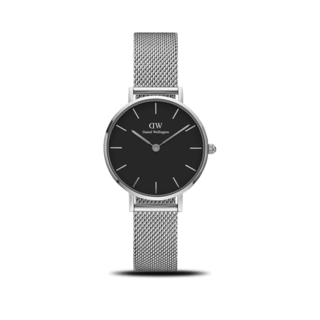 Daniel Wellington Damenuhr Classic Black Petite Sterling DW00100218