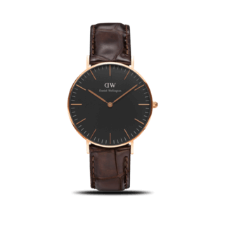 Daniel Wellington Damenuhr Classic Black York DW00100140