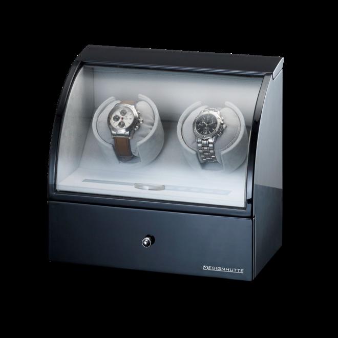 Uhrenbeweger Designhütte Uhrenbeweger Basel 2 LCD aus Holz/MDF bei Brogle