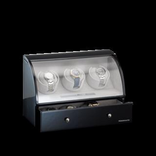 Designhütte Uhrenbeweger Uhrenbeweger Basel 3 LCD 70005-25