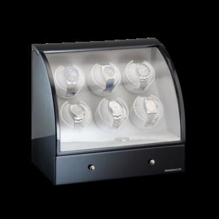 Designhütte Uhrenbeweger Uhrenbeweger Basel 6 LCD 70005-27