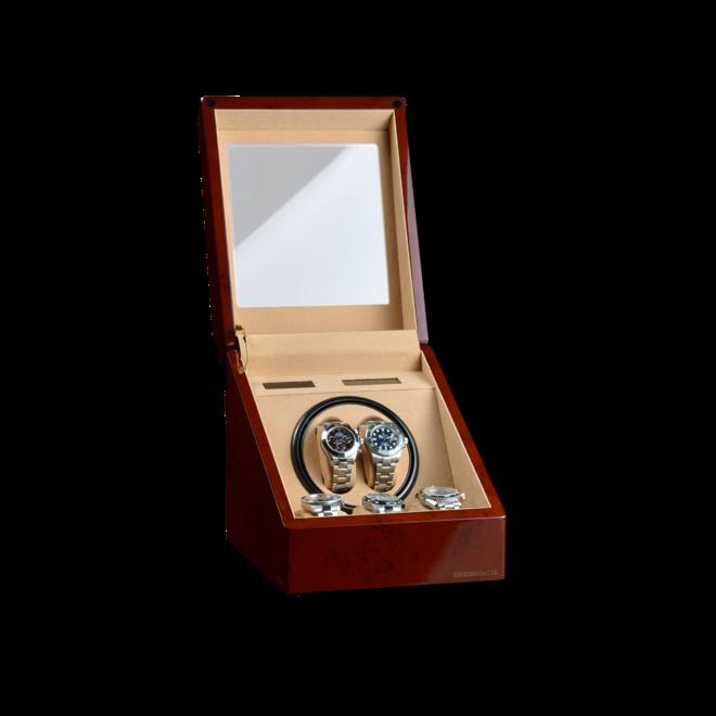 Uhrenbeweger Designhütte Monaco - Wurzelholz aus Holz/MDF bei Brogle