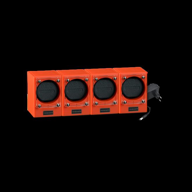 Uhrenbeweger Designhütte Uhrenbeweger Piccolo 4er Set - Coral aus Kunststoff und Carbon bei Brogle