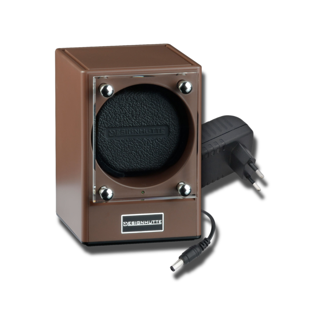 Uhrenbeweger Designhütte Uhrenbeweger Piccolo - Chocolate aus Kunststoff und Carbon bei Brogle