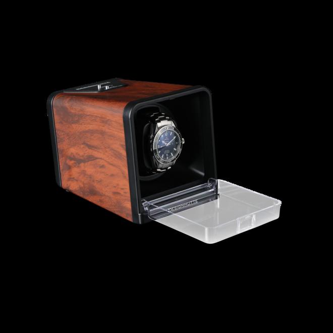Uhrenbeweger Designhütte Uhrenbeweger Urban - Wurzelholz aus Wurzelholz und Kunststoff bei Brogle