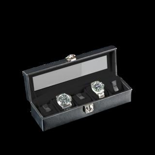Designhütte Uhrenbox mit Sichtfenster Solid 5 70005-131