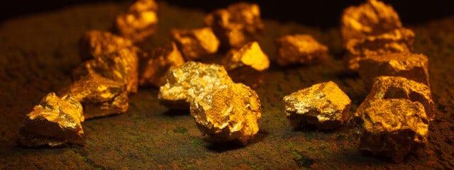 Die Geschichte von Gold