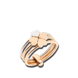 Dodo Ring Vierblättriges Kleeblatt AD12C/9/A