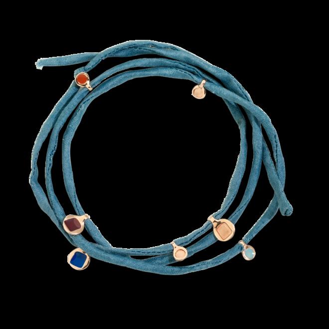 Armband Dodo Bazaar aus Seide, 925 Sterlingsilber und Emaille bei Brogle