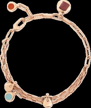 Armband Dodo Bazaar aus 925 Sterlingsilber und Emaille Größe L