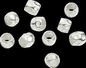 Bead Dodo 10 Körner aus 925 Sterlingsilber