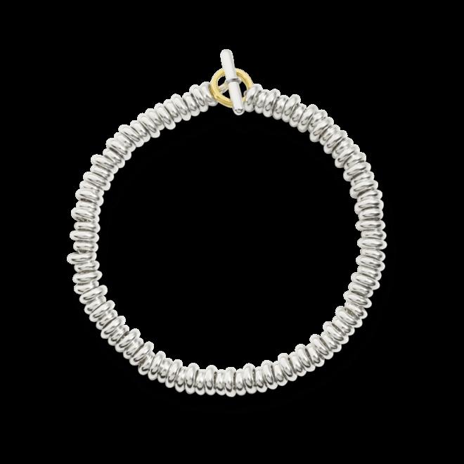 Armband Dodo Beads aus 925 Sterlingsilber und 750 Gelbgold Größe XXL bei Brogle