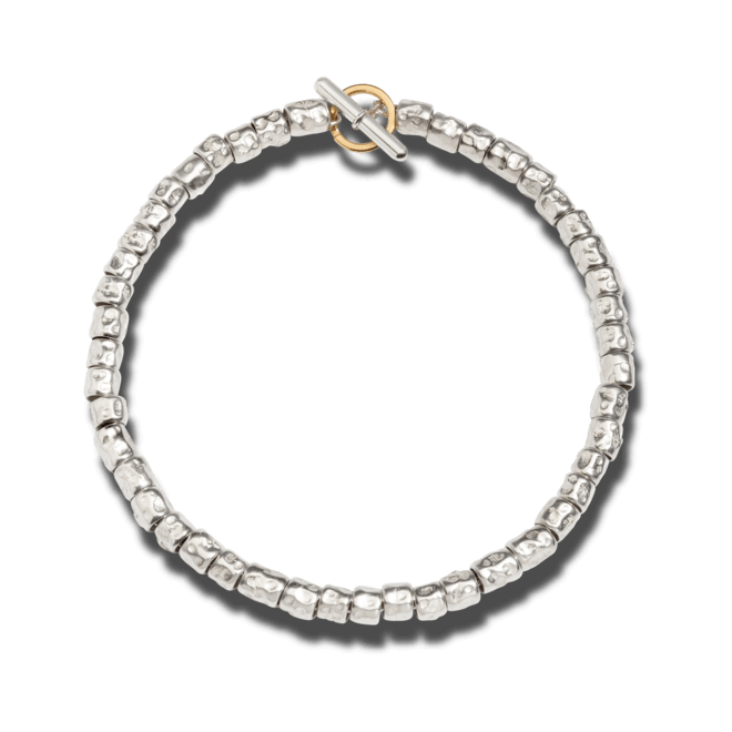 Armband Dodo Beads aus 925 Sterlingsilber und 750 Gelbgold bei Brogle