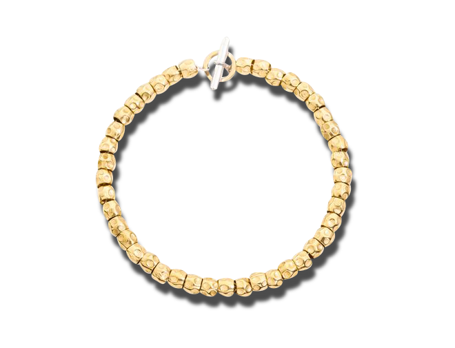 Armband Dodo Beads aus 750 Gelbgold und 925 Sterlingsilber Größe 16 cm bei Brogle