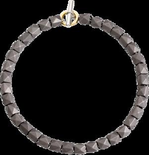 Armband Dodo Beads aus 925 Sterlingsilber und Titan Größe 20 cm
