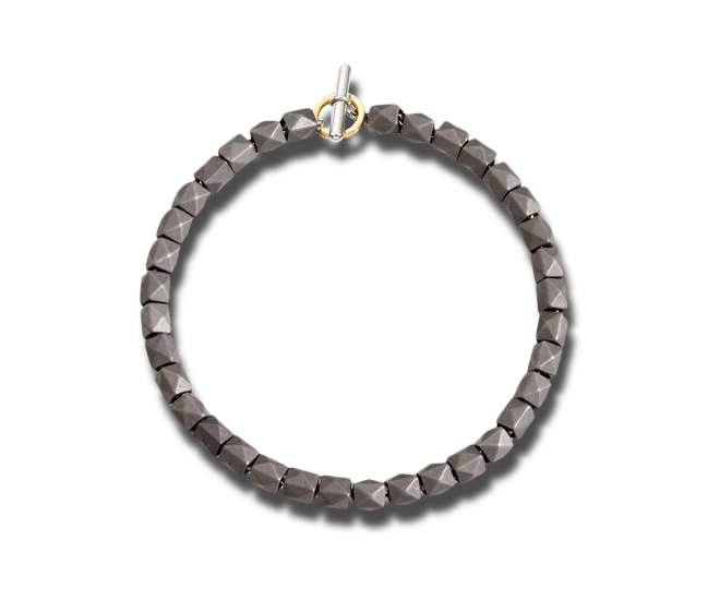 Armband Dodo Beads aus 925 Sterlingsilber und Titan Größe 20 cm bei Brogle