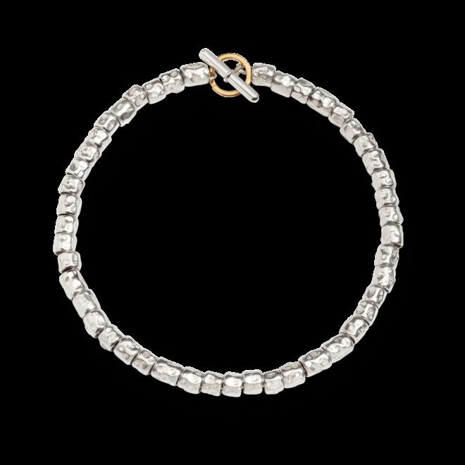Armband Dodo Beads aus 925 Sterlingsilber und 750 Gelbgold