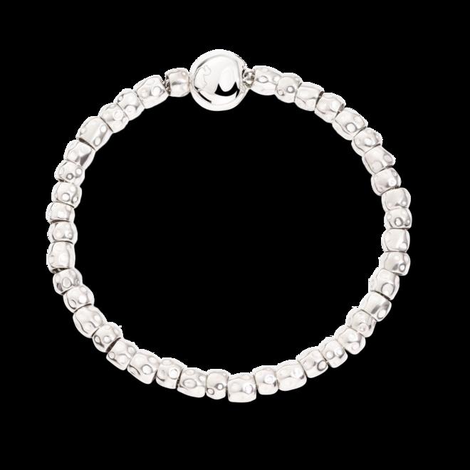 Armband Dodo Beads-Set mit Pepita-Verschluss aus Silber und 375 Roségold bei Brogle
