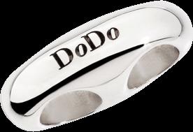 Slider Dodo Cord Stopper aus Silber