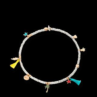 Dodo Halskette mit Anhänger Beads DKGMNAP/9