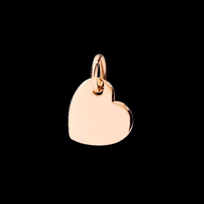 Charm Dodo Herz aus 375 Roségold bei Brogle