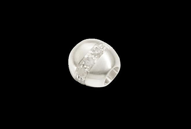 Bead Dodo Pepita aus Silber mit mehreren Diamanten (0,15 Karat) bei Brogle