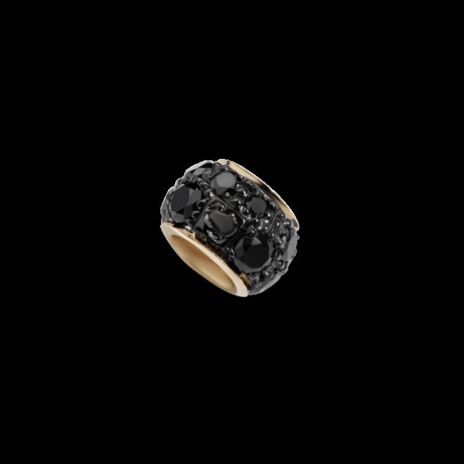 Bead Dodo Ringlet aus 375 Roségold mit mehreren Diamanten (0,21 Karat)