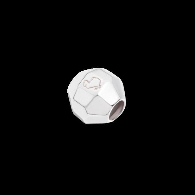 Bead Stopper Dodo Steinchen Stopper für Everyday Halsketten aus Silber und Silikon
