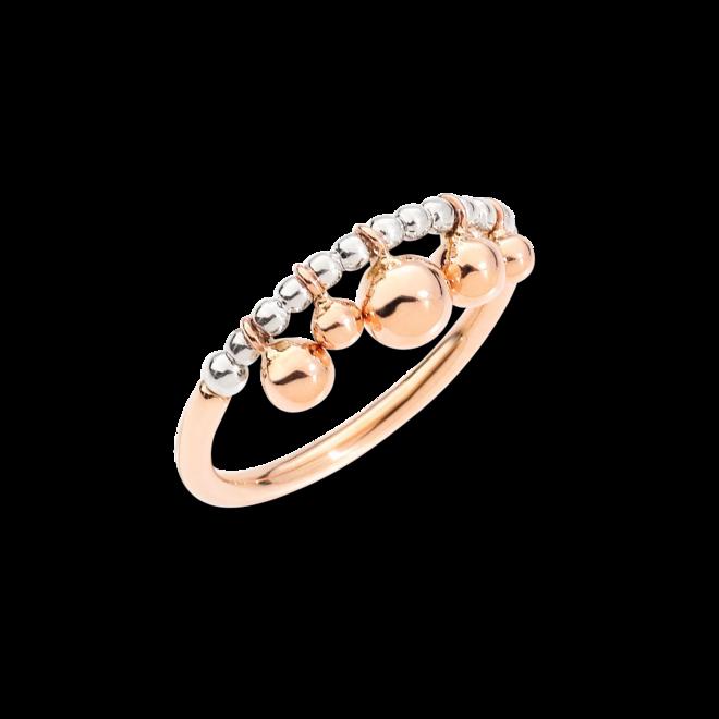 Ring Dodo Bollicine aus 375 Roségold und 925 Sterlingsilber bei Brogle