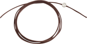 Kordel Dodo Baumwolle (dünn) aus Textil und 925 Sterlingsilber
